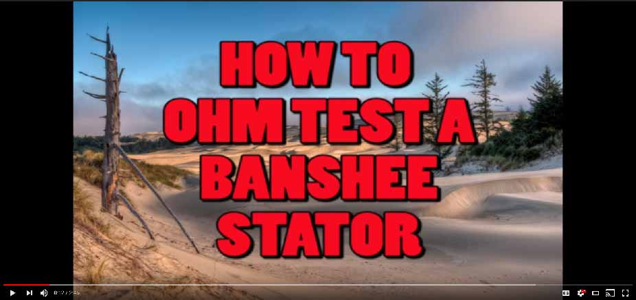 How To Test Banshee Stator